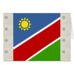 Bandera de alta calidad de Namibia Tarjetón