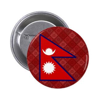 Bandera de alta calidad de Nepal Pins