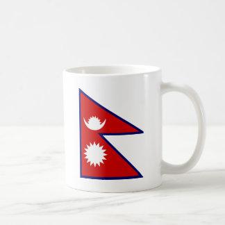Bandera de alta calidad de Nepal Taza