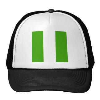 Bandera de alta calidad de Nigeria Gorra