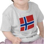 Bandera de alta calidad de Noruega Camisetas