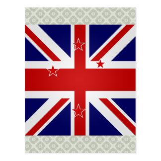 Bandera de alta calidad de Nueva Zelanda Tarjetas Postales