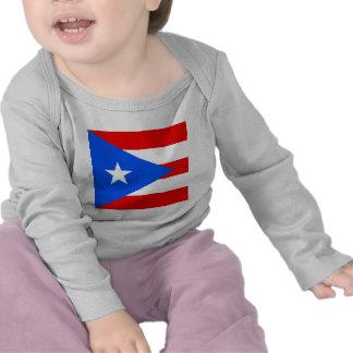 Bandera de alta calidad de Puerto Rico Camisetas