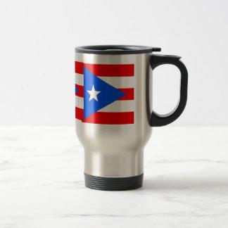 Bandera de alta calidad de Puerto Rico Tazas