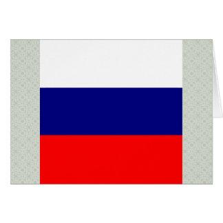 Bandera de alta calidad de Rusia Tarjeta