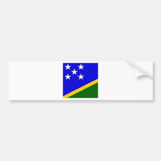 Bandera de alta calidad de Solomon Island Pegatina Para Auto