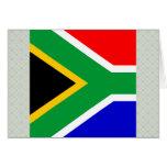Bandera de alta calidad de Suráfrica Tarjetas