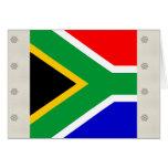 Bandera de alta calidad de Suráfrica Tarjetón