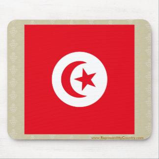 Bandera de alta calidad de Túnez Tapetes De Ratón