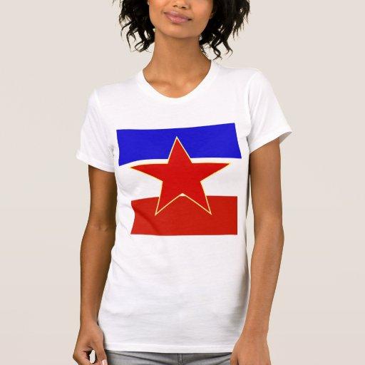 Bandera de alta calidad de Yugoslavia Playera
