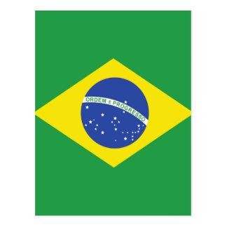 Bandera de alta calidad del Brasil Tarjeta Postal