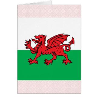 Bandera de alta calidad Galés Tarjeta De Felicitación
