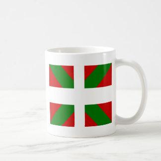 Bandera de alta calidad vasca tazas