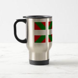 Bandera de alta calidad vasca taza de café