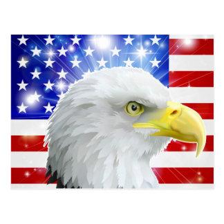 Bandera de American Eagle Postales
