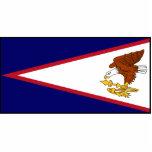 Bandera de American Samoa Escultura Fotografica