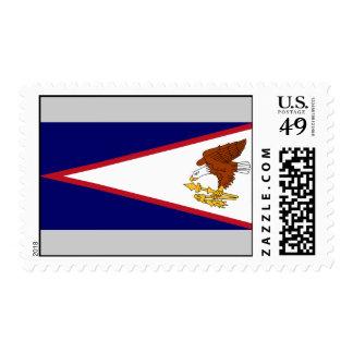 Bandera de American Samoa Sellos