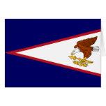 Bandera de American Samoa Tarjeta De Felicitación