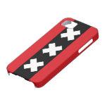 Bandera de Amsterdam iPhone 5 Carcasa