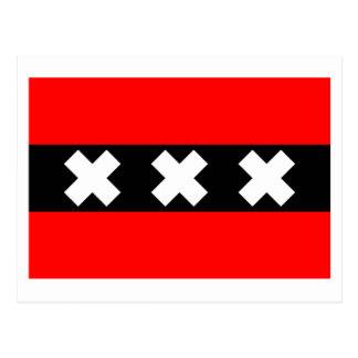 Bandera de Amsterdam Postal