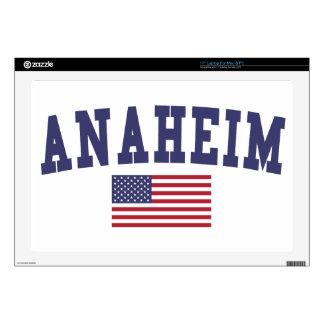Bandera de Anaheim los E.E.U.U. Portátil 43,2cm Skins