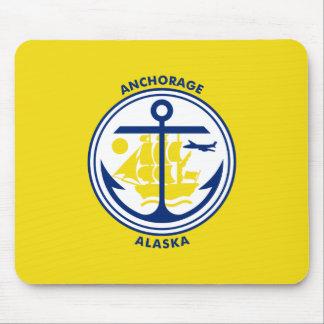 Bandera de Anchorage Alfombrilla De Ratones