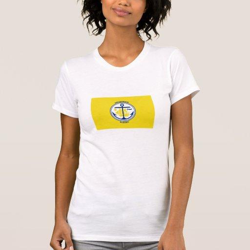 Bandera de Anchorage Camisetas