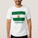 Bandera de Andalucía con nombre Playera