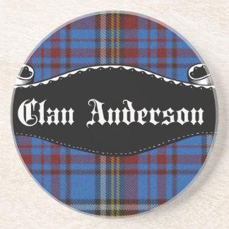 Bandera de Anderson del clan Posavasos Cerveza