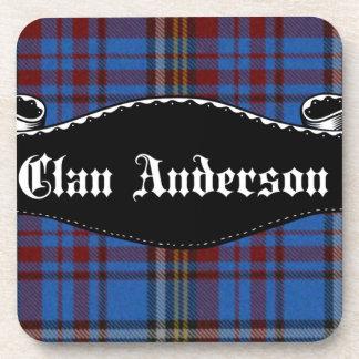 Bandera de Anderson del clan Posavasos De Bebidas