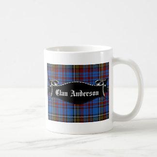 Bandera de Anderson del clan Taza De Café