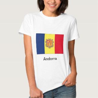 Bandera de Andorra Camisas