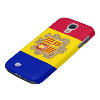 Bandera de Andorra Funda Para Galaxy S4