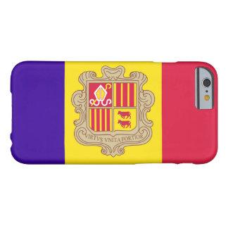 Bandera de Andorra Funda Para iPhone 6 Barely There