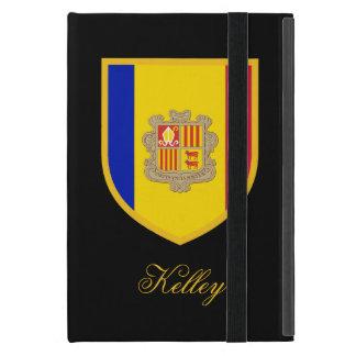 Bandera de Andorra iPad Mini Funda