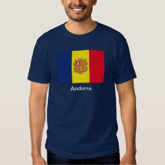 Bandera de Andorra Poleras