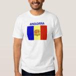 Bandera de Andorra Remera