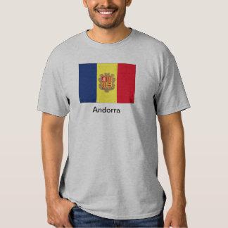 Bandera de Andorra Remeras
