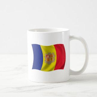 Bandera de Andorra Taza