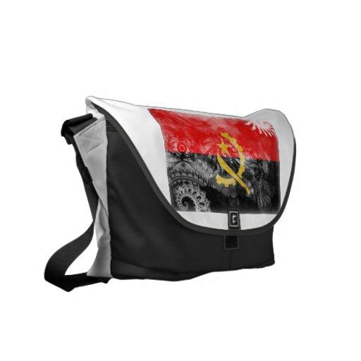 Bandera de Angola Bolsas De Mensajeria