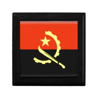 Bandera de Angola Cajas De Joyas