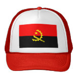 Bandera de Angola Gorro De Camionero