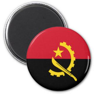 Bandera de Angola Imán Redondo 5 Cm