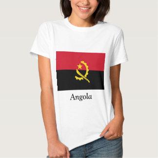 Bandera de Angola Polera