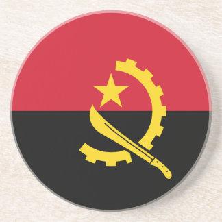 Bandera de Angola Posavasos Manualidades