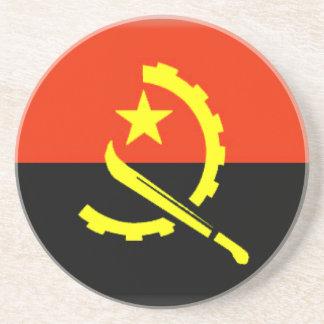 Bandera de Angola Posavasos Cerveza