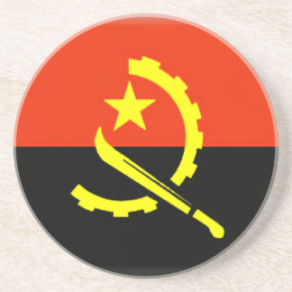 Bandera de Angola Posavaso Para Bebida