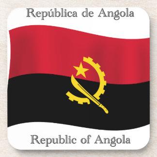 Bandera de Angola Posavasos De Bebida