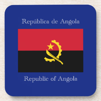 Bandera de Angola Posavasos De Bebidas