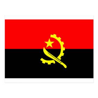 Bandera de Angola Postal
